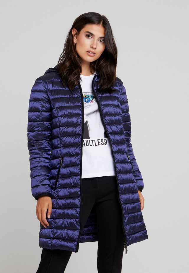 FUNCTIONAL FILLED - Classic coat - smooth blue