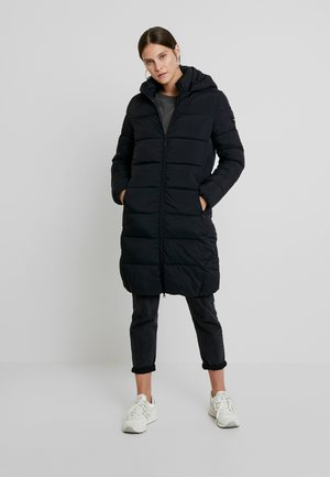 FUNCTIONAL FILLED COAT - Cappotto classico - black