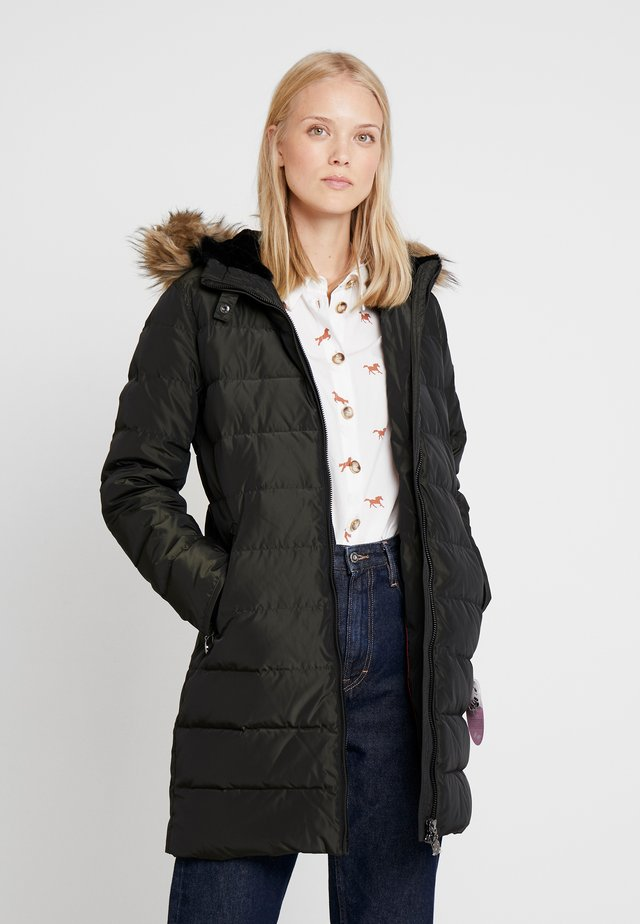 COAT - Down coat - black olive
