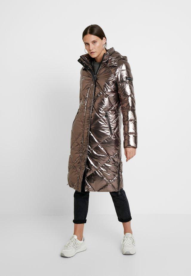 COAT - Down coat - beige