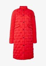 LUNA - Krátký kabát - red