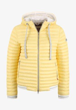 KAPUZENSTEPPJACKE EMILY - Winter jacket - gelb