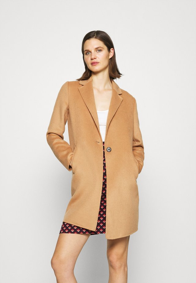 DOUBLE FACE COAT - Cappotto classico - camel