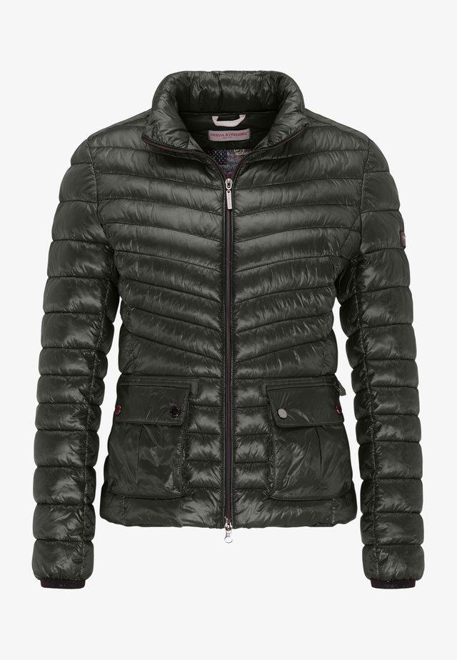 Down jacket - black olive