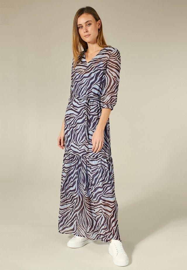 MIT ANIMAL-PRINT - Maxi-jurk - zebra