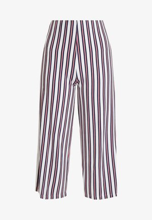 CULLOTE LISO Y RAYA - Teplákové kalhoty - red/dark blue