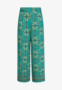 Springfield - PANT PRINT RUSTIC - Kalhoty - green - 5