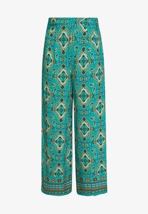 PANT PRINT RUSTIC - Pantalones - green