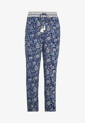 PANT FLUIDO  - Pantalones - blue