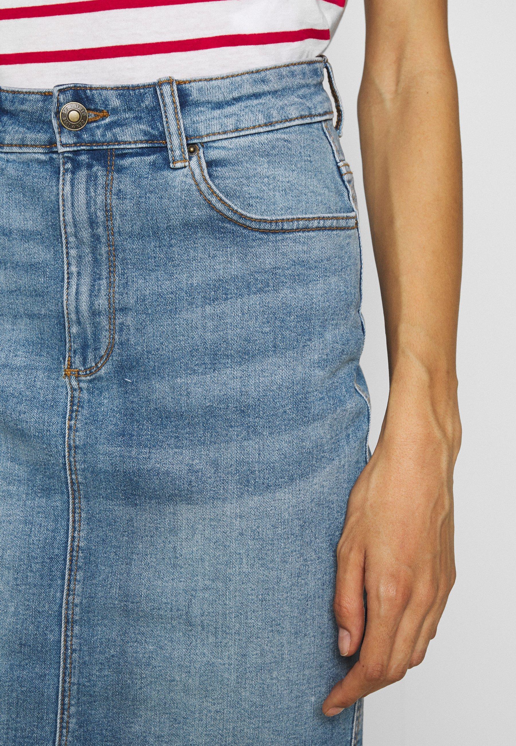 Springfield FALDA - Spódnica ołówkowa  - medium blue