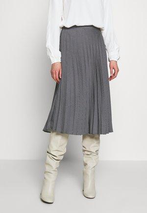FALDA PLISADA - A-line skirt - beige
