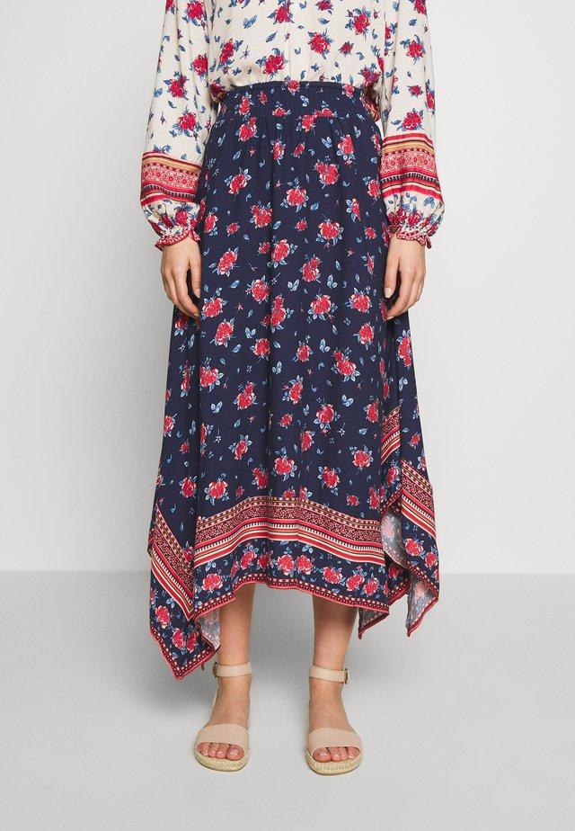 FALDA - A-line skirt - blue