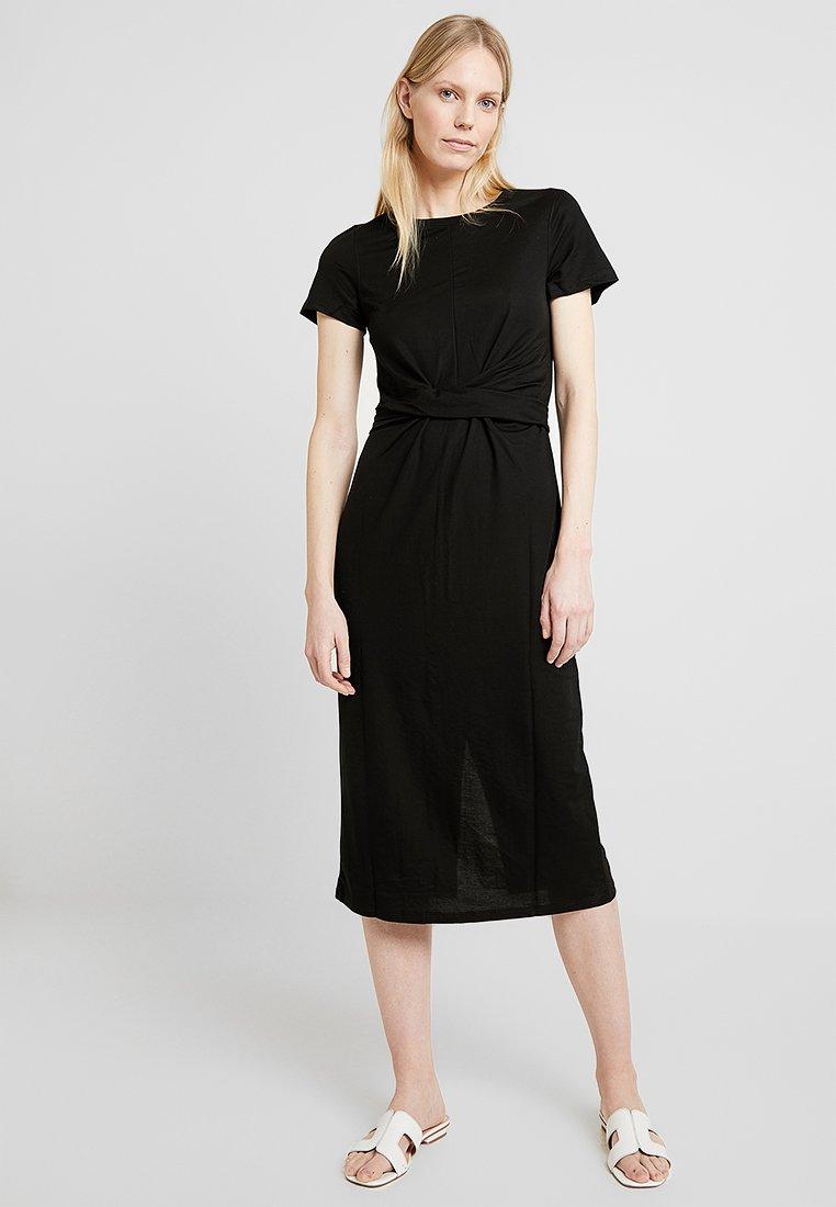 Springfield - APUESTA NUDO COL - Jersey dress - black