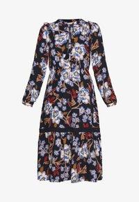 Springfield - VESTIDO FLORAL - Denní šaty - blue - 4