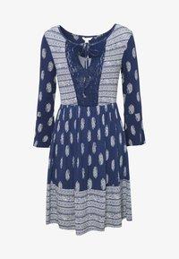 Springfield - VEST PASLEY - Jersey dress - blue - 6