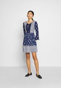 Springfield - VEST PASLEY - Jersey dress - blue - 1