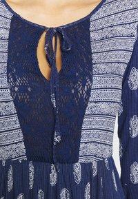 Springfield - VEST PASLEY - Jersey dress - blue - 7