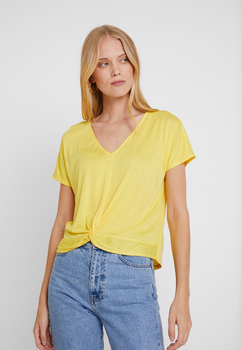Springfield - NUDO - Print T-shirt - yellows
