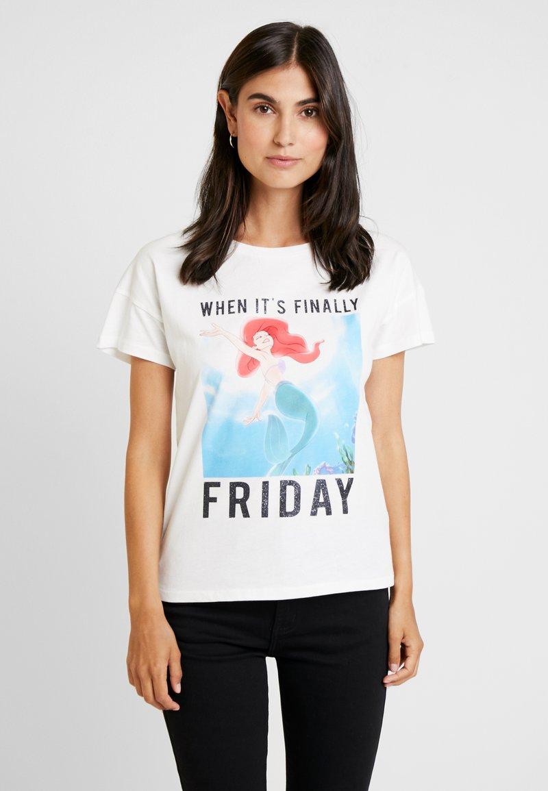 Springfield - MEMES DISNE - T-shirts print - white