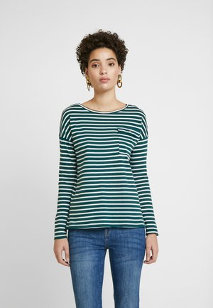 LONG SLEEVE SHAPE WITH POCKET - T-shirt à manches longues - white
