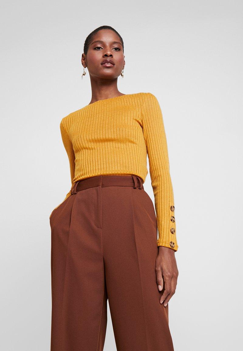 Springfield - CANALE PERCHADO - Jumper - browns