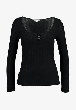 ESPECIAL PANADERA - Top sdlouhým rukávem - black