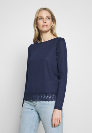 Long sleeved top - blues