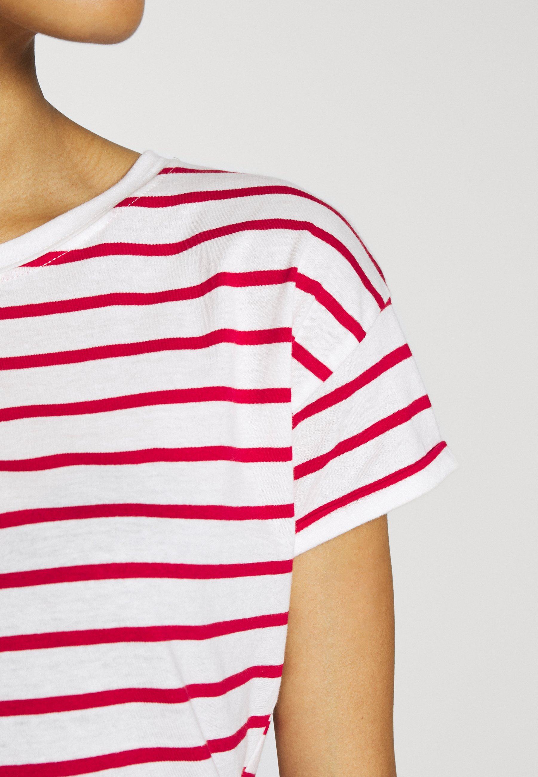 Springfield ESPECIAL RAYA - T-shirts med print - red