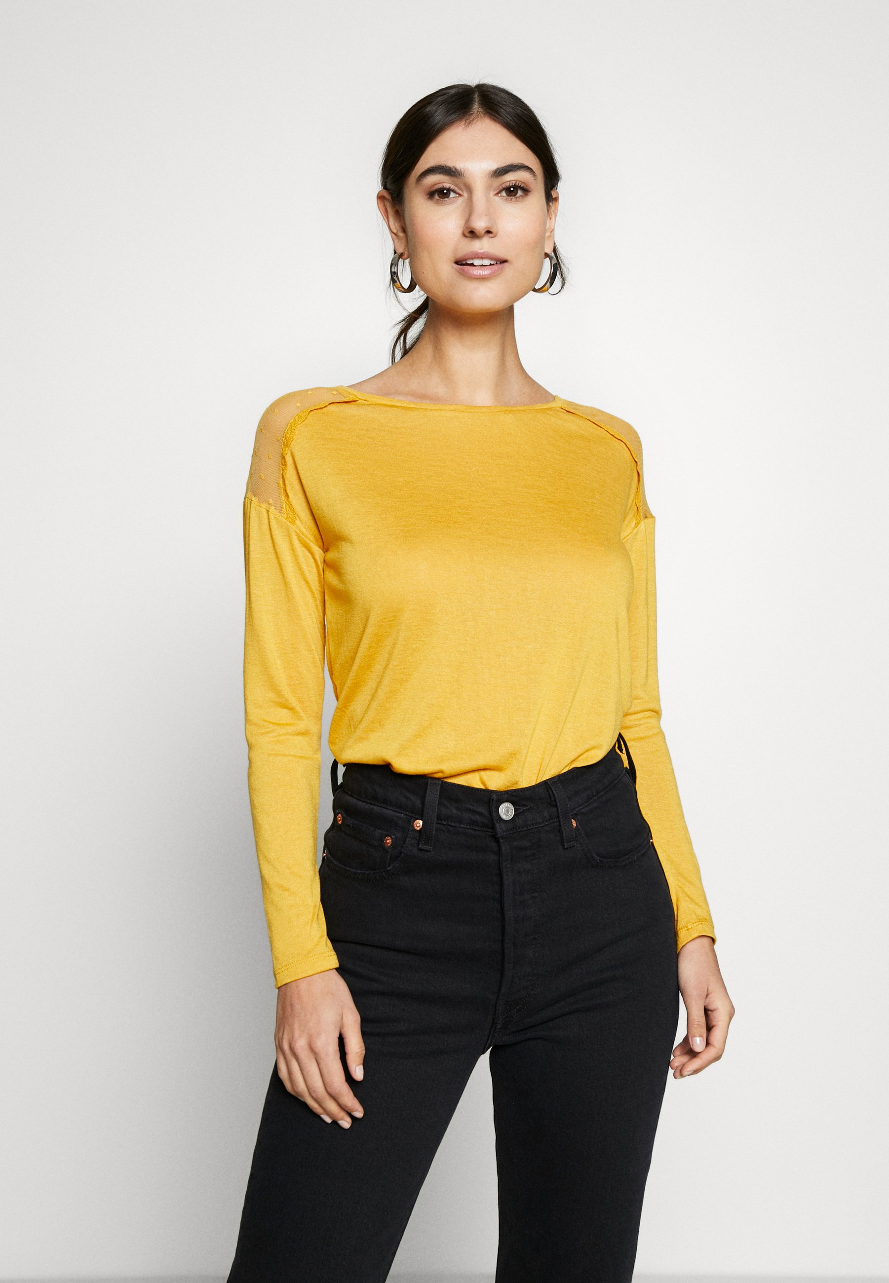 Springfield PLUMETI - Topper langermet - yellow
