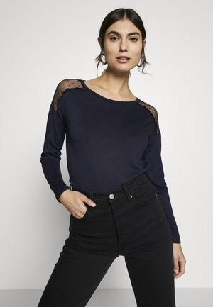 PLUMETI - Long sleeved top - blue_print