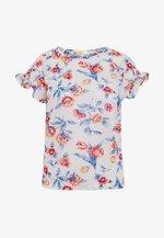 MARIP FLOR - Camiseta estampada - white/multi-coloured