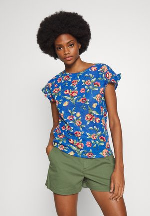 MARIP FLOR - T-shirt con stampa - light blue
