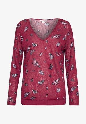 BIMAT MARIPOSA  - T-shirt à manches longues - reds