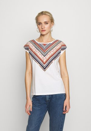 CAMISETA COLLAR - T-shirts med print - white