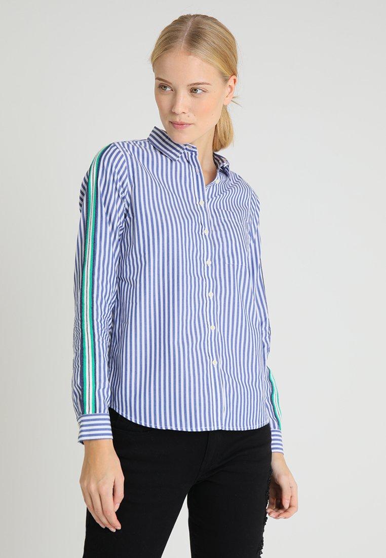 Springfield - CAMISA MANGA - Camicia - marine blue