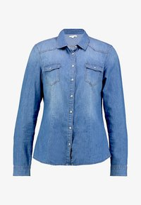 Springfield - CAMISA BÁSICA - Camisa - blue denim - 4
