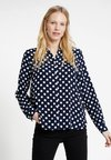 Springfield - CAMISA TOPO - Button-down blouse - blues