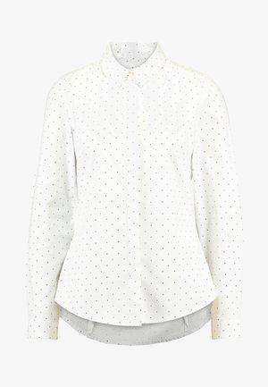 CAMISA SLIM FIT - Overhemdblouse - ivory