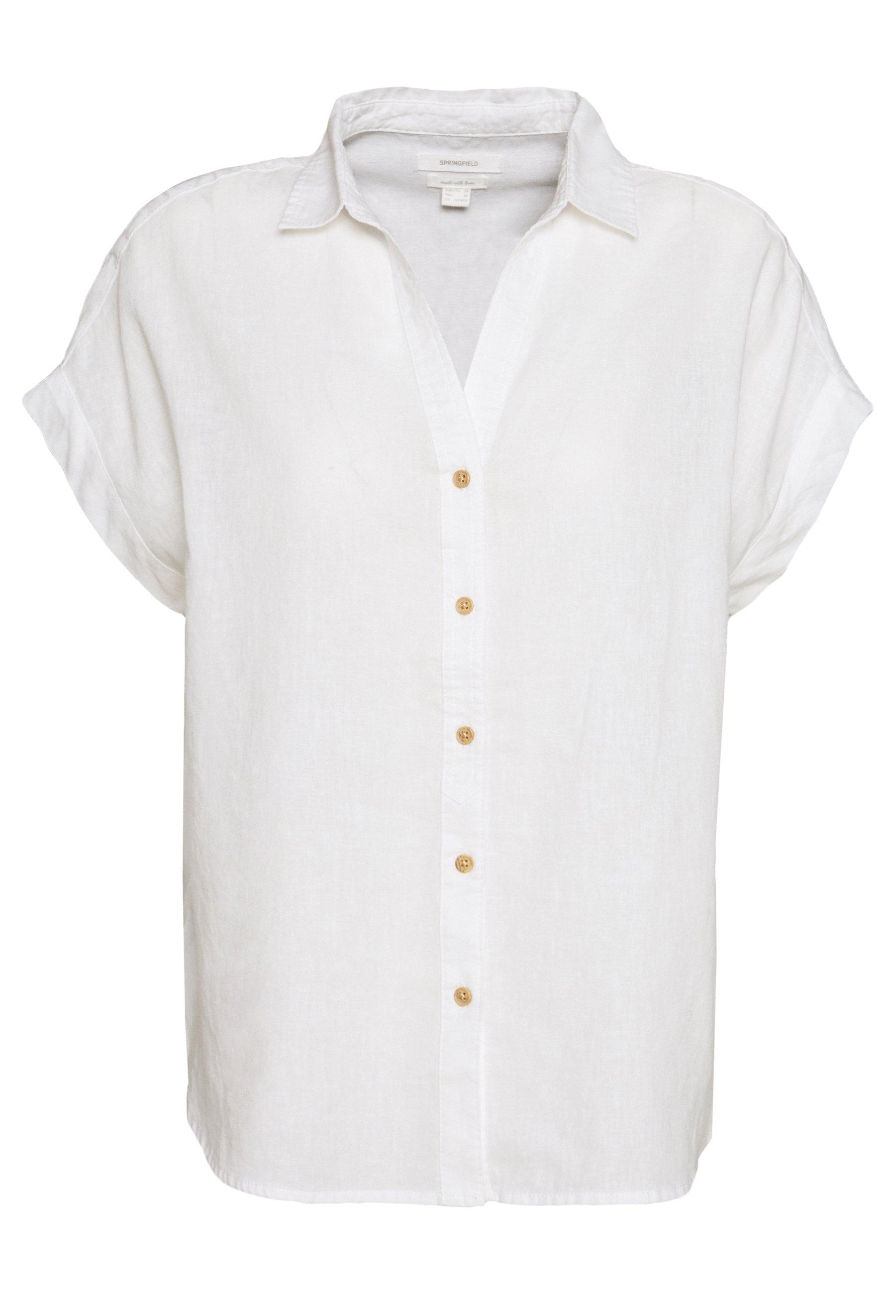 Odkryj ponadczasowe bluzki i koszule Springfield w Zalando i