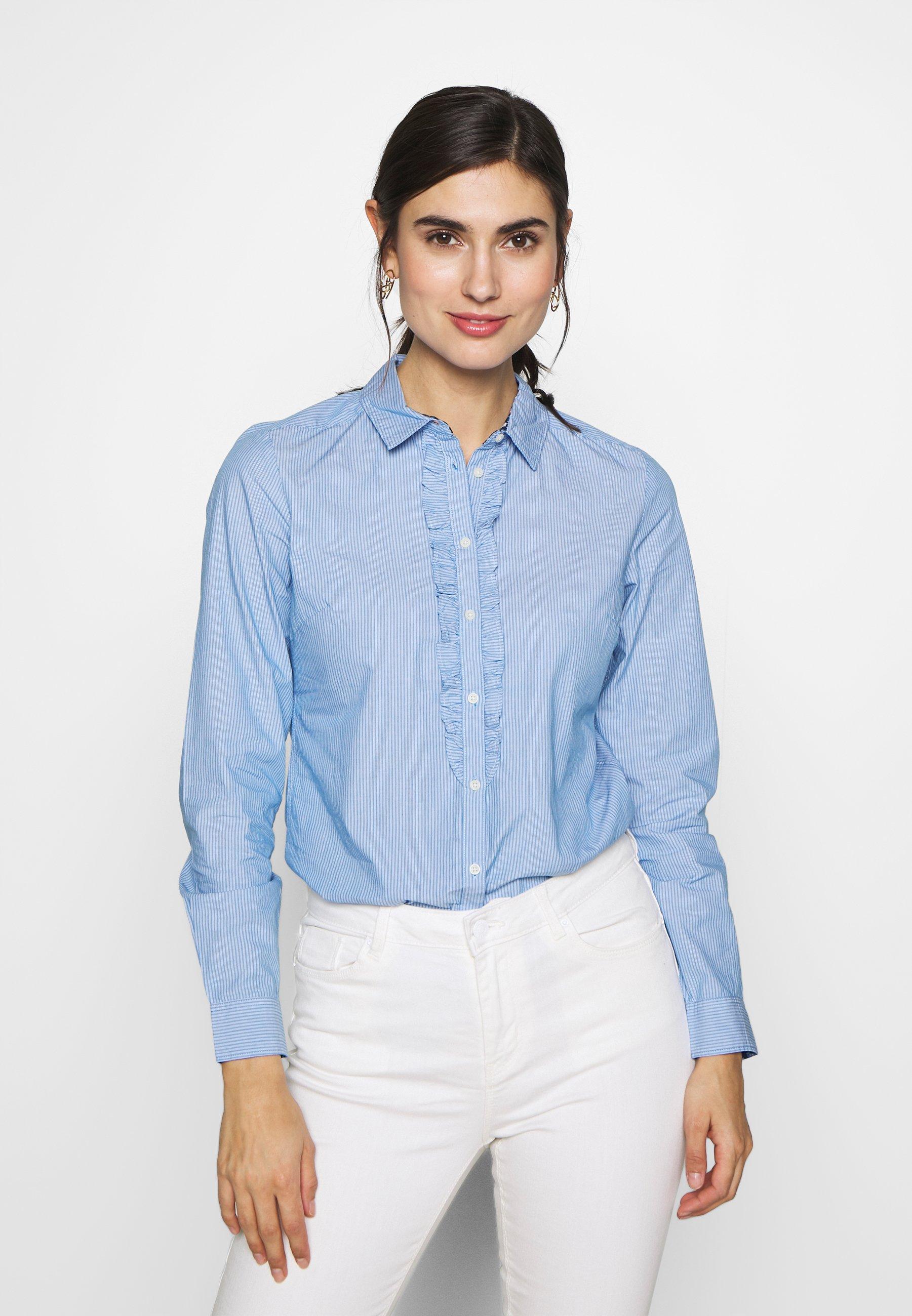 Odkryj ponadczasowe bluzki i koszule Springfield w Zalando i  CG6KO