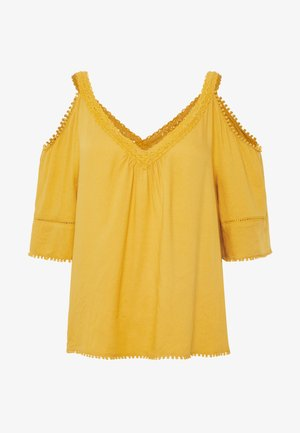 OFFSHOULDER - Blusa - yellow