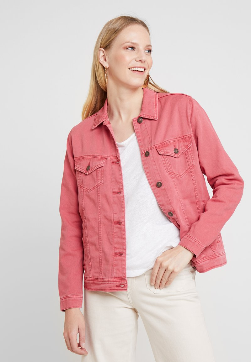 Springfield - GYM CAZADORA - Denim jacket - pinks