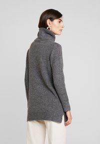 Springfield - Stickad tröja - dark grey - 2