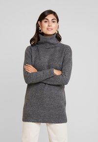 Springfield - Stickad tröja - dark grey - 0
