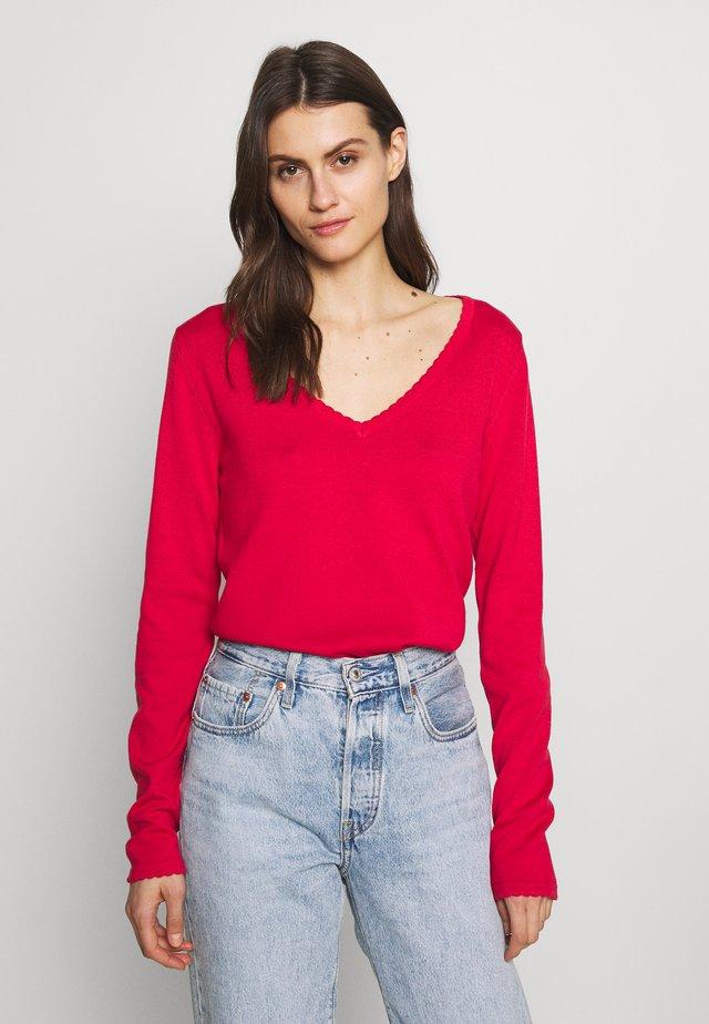 FRANQUICIAS BASICO - Sweter - red
