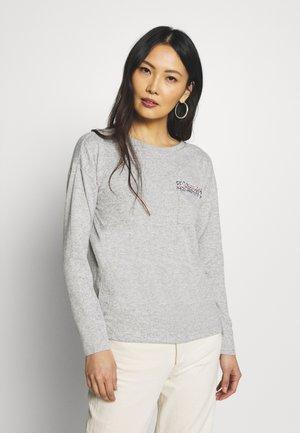 Jumper - light grey/silver