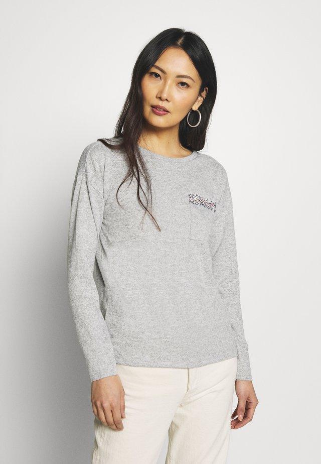 Jersey de punto - light grey/silver