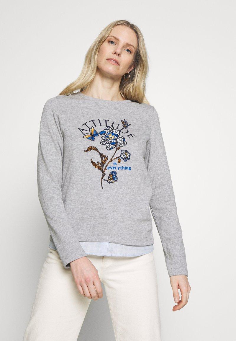 Springfield - BIMAT FLOR POSICIONAL - Sweatshirt - greys