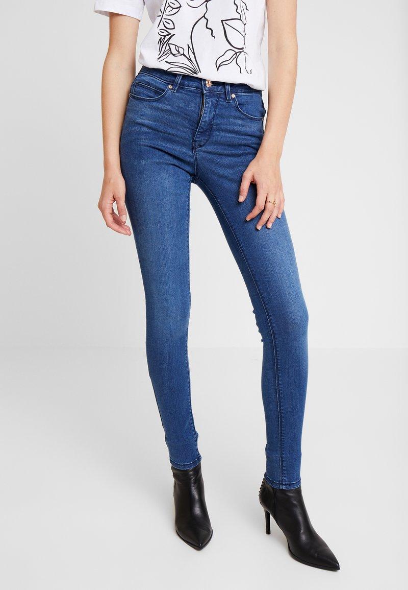Springfield - BODYSHAPE - Jeans Skinny Fit - blues