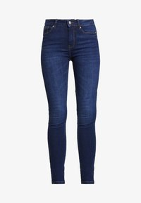 Springfield - SCULPT HIGH RISE - Jeans Skinny Fit - blues - 4